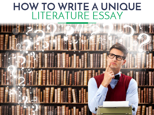 how to write a literature essay