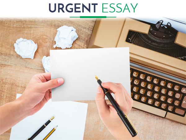 Urgent essay