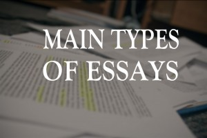 main-types-of-essays