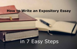 How do you start an expository essay