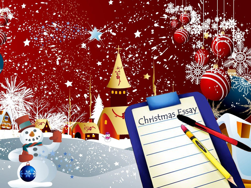 essay on christmas