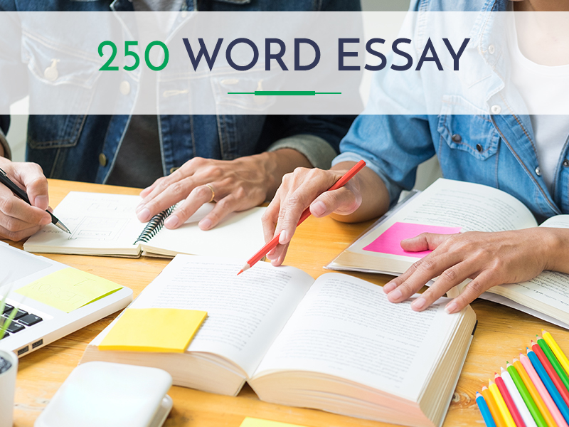 How to write an 250 word essay qualification to put on resume